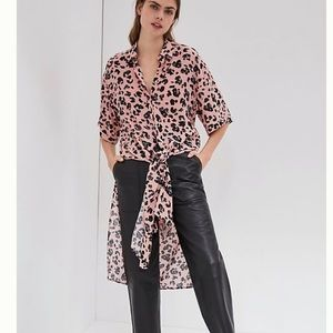 Anthropologie Maeve Rita Printed Tunic Blouse